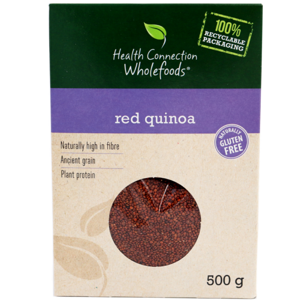 Red Quinoa 500g Front of pack