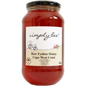 Simply Bee Raw Fynbos Honey, 1kg