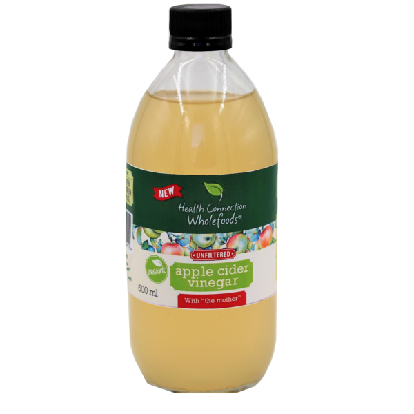 Apple Cider Vinegar, unfiltered, organic, 500ml