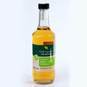 Apple Cider Vinegar, Organic 250ml
