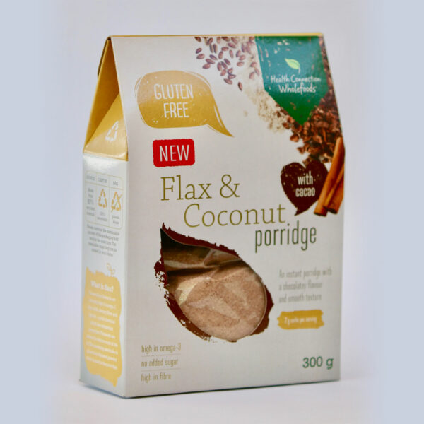 Flax & Coconut Porridge with Cacao 300g