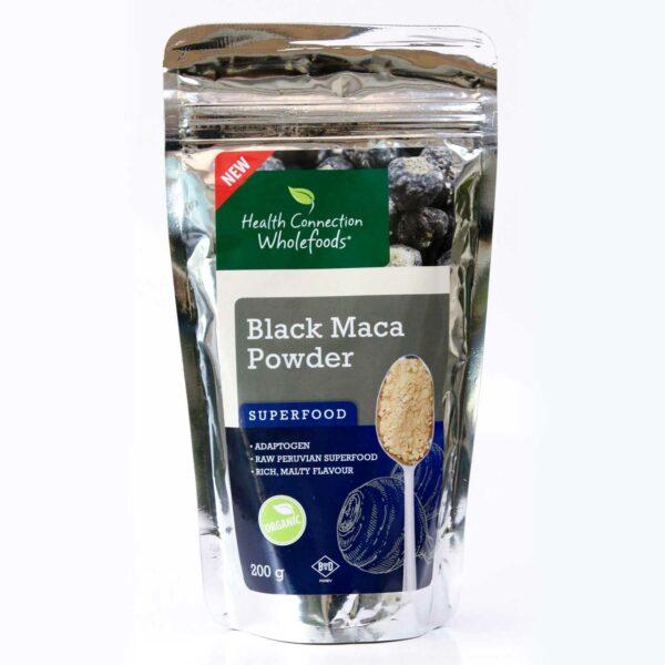 Black Maca Powder, Organic 200g