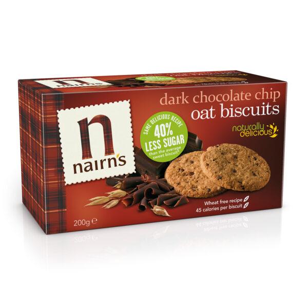 Dark Chocolate Chip Biscuits 200g