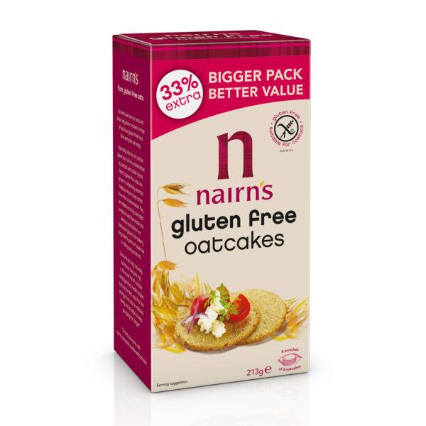 Gluten Free Oatcakes 213g