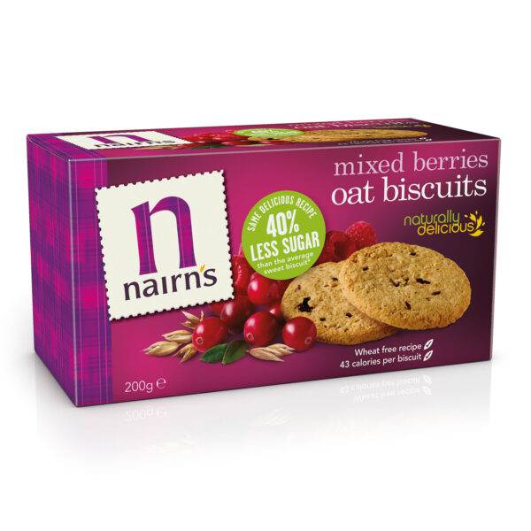 Mixed Berries Biscuits 200g