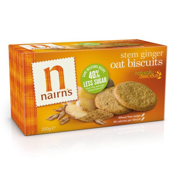 Stem Ginger Biscuits 200g