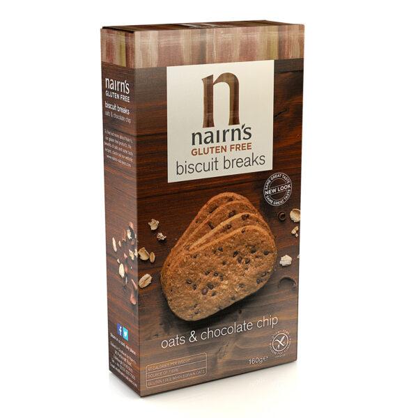 Gluten Free Chocolate Chip Biscuits 160g