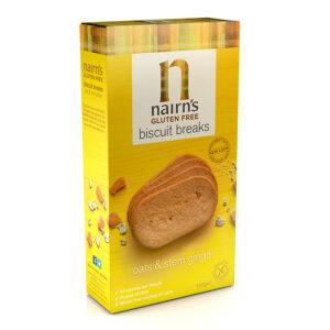 Gluten Free Ginger Biscuit Breaks 160g