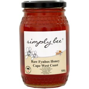 Simply Bee Raw Fynbos Honey, 500g