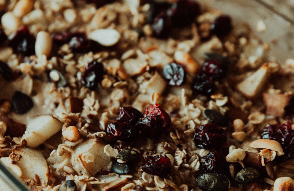 Cranberry & Apple Baked Oatmeal